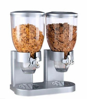 Easy to use fancy clear plastic Cereal Dispenser, Easy fast breakfast 2465