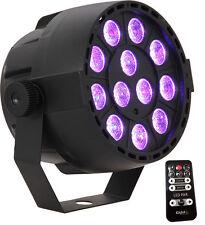 """IBIZA Light """"PAR-MINI-RGB"""" 12x 3 Watt 3-in-1 RGB LED PAR Scheinwerfer mit FB!"""