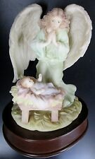 "Seraphim Classics ""Francesca"" Music Box Plays Loving Guardian 1993"