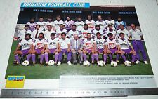CLIPPING POSTER FOOTBALL 1991-1992 TOULOUSE FC Téfécé TFC STADIUM