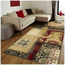 Superior Patchwork Collection 4x6 Rug Floral Geometric Patchwork  - HOTT DEALS