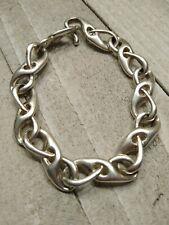 AC Studio Angela Cummings Sterling Silver Modernist Bracelet Sleek Loop Link