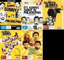 It's Always Sunny In Philadelphia Season 1 2 3 4 5 6 1-6 DVD Region 4 R4 Its