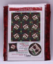 Quilt Kit - Jeweled Tulip Earthlight Yolanda Fundora Tulips Quilting Kit M416.03