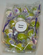 Set of 15 Linda's Lollies Green Apple lollipops