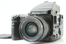 【Excelente + 5 】Mamiya 645 Pro AE Prisma Visor Sekor Tapa 45mm f2.8 N Lente De