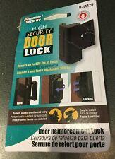Defender Security U 11126 Door Reinforcement Lock – Add Extra, High Security