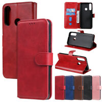 Book Wallet Leather Flip Cover Case For Motorola Moto G7 Plus G8 Play G7 Power