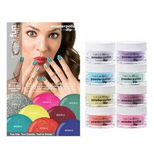 Cuccio So So Fun Powder Polish Nail Colour Dip System Collection Kit 8 pc