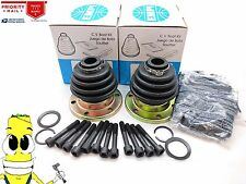 Rear Inner & Outer CV Axle Boot Kit For VW Combi (Mexico Made) 1970-1997 M/T