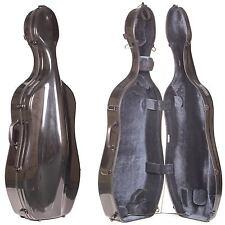 Eastman Carbon Fiber Hybrid 4/4 Cello Case with Wheels - AUTHORIZED DEALER!