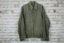 Barbour Washed Twill Blouson Jacket size M