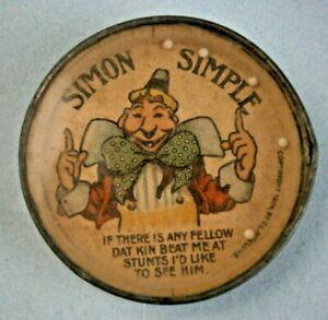 SIMON SIMPLE Dexterity Puzzle Copyright 1904, By T.C. MCCLUNE