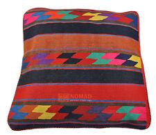 Kelim Coussin Taie D'Oreiller Perse Handmade 50 X 50 cm Kélim Pillow