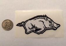 University of Arkansas Fayetteville Razorbacks  Iron On Patch Hogs Right