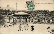 CPA  Dijon - Place St-Pierre , le Kiosque   (587034)