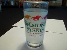 1992 Official Belmont Stakes Glass