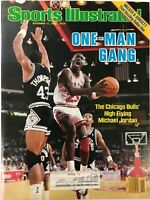 Michael Jordan Unsigned Sports Illustrated November 17 1986