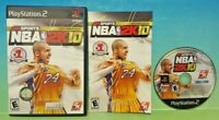 KOBE Bryant NBA 2K10  -  Playstation 2 PS2 Game Working / Tested - 1 Owner -