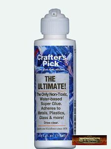 M00022 MOREZMORE Crafter's Pick Ultimate! Super Glue Metal Wood Clay 4 oz
