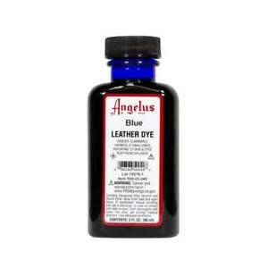 Angelus Brand Leather Dye for Shoes, Sneakers, Bags - 3oz - BLUE