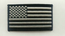 """Subdued Tactical SWAT USA Flag Patch Iron-on Patch New 3.5"""" X 2"""" Operator Patch"""
