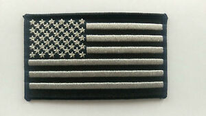 """Subdued Tactical SWAT USA Flag Patch Iron-on Patch  3.5"""" X 2"""" Operator Patch"""