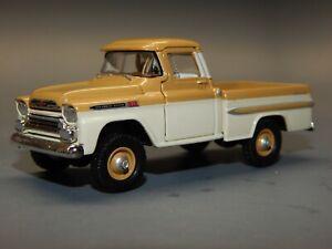 M2 32500 R29 1/64 scale Auto Trucks 1959 Chevrolet Apache 4X4 BEIGE Loose HTF