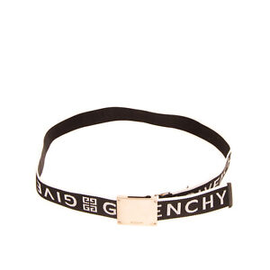 RRP €250 GIVENCHY Hip Belt Size 100/40 Plate Autogrip Buckle Made in Italy