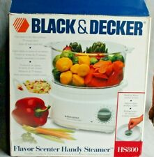 Black & Decker Hs800 Flavor Scenter Handy Steamer and Rice Cooker with Guide