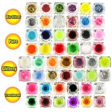 Gels et vernis semi-permanents multicolore pour manucure et pédicure