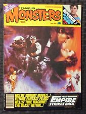 1983 FAMOUS MONSTERS Magazine #190 FVF 7.0 Star Wars / Superman 3