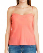 8a7c30c439765d Ted Baker Tissa Scalloped Edge Camisole Top Vest Cami in Coral pink Sz S  UK8 NEW