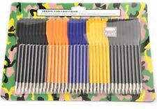 "36pcs 6.3"" 16cm 6.2mm Plastic Arrow Bolts 50-80 Lb Archery Crossbow Bow Hunting"
