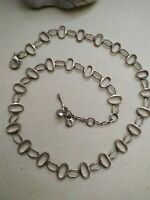 Fossil goldtone chain necklace 20""