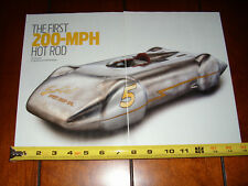 So Cal SPEED SHOP SPECIAL - ORIGINAL 2013 ARTICLE-  FIRST 200 MPH HOT ROD