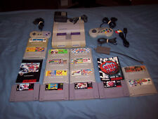 Super Nintendo SNES Console System JP Mod Plays Super Famicom Games 14 Games