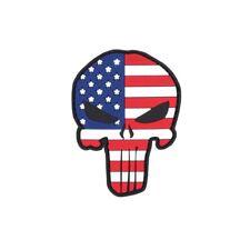 Patch Punisher USA 3d rubber America paese STEMMA BANDIERA unità 8x5cm #23276