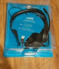 Logitech  logitech h390 USB Headset with noise canceling Microphone