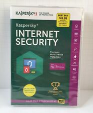 KASPERSKY INTERNET SECURITY PROTECTION 2015 FOR 3 DEVICES New Sealed