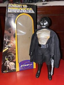 Vintage Ideal Toys Star Team Knight Of Darkness 11 Inch Action Figure