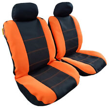 Orange Black Waterproof ANTI-UV Neoprene Seat Cover For Holden Racing Team HRT