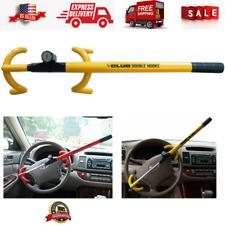 Car Steering Wheel Lock The Club Lock Security System Anti Theft Yellow