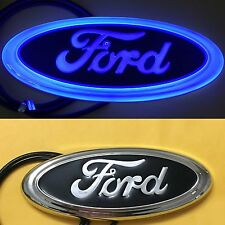 4D LED Car Tail Logo Blue Light for Ford Focus Mondeo Kuga Auto Badge Light
