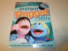 Instant Puppet Skit Book 20 Stories from People Who Met Jesus Bible**w/ One CD**