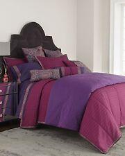Natori La Pagode King Duvet Cover Purple/Plum X064