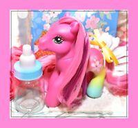 ❤️My Little Pony G3 Spring Easter 2008 Cheerilee Art Pony Pose Pink Gradient❤️