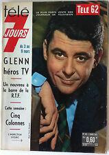 Télé 7 Jours 21/10/1961; Jean C. Pascal/ Danielle Bochet/ Pub Chaussette noires