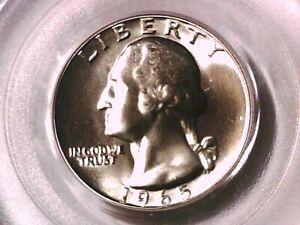 1965 P Washington Quarter PCGS SP 68 SMS 15836393
