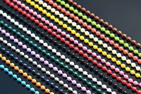 15 pcs Painted Colors Fly Tying Steel Bead Chain 2.5mm Eyes Fly Tying Materials